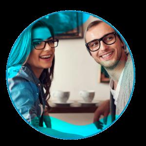 Quantum - Zowel mannen als vrouwen kunnen de modieuze bril gebruiken - brille