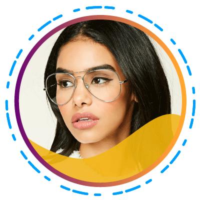 Quantum- De moderne vrouw moet de beste modieuze bril bij de hand hebben - -Aviator-bril(SUBTITULO)
