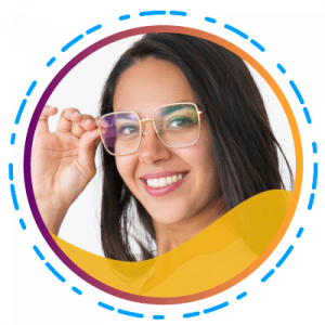 Quantum-- De moderne vrouw moet de beste modieuze bril bij de hand hebben - Long-and-Thin-lenzen (SUBTITULO)