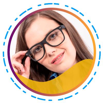 Quantum-- De moderne vrouw moet de beste modieuze bril bij de hand hebben - Square-lenzen-(SUBTITULO)