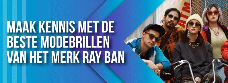 Quantum - Maak kennis met de beste modebrillen van het merk Ray Ban