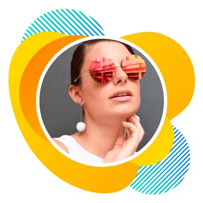 Quantum - modegespiegelde zonnebrillen - brille