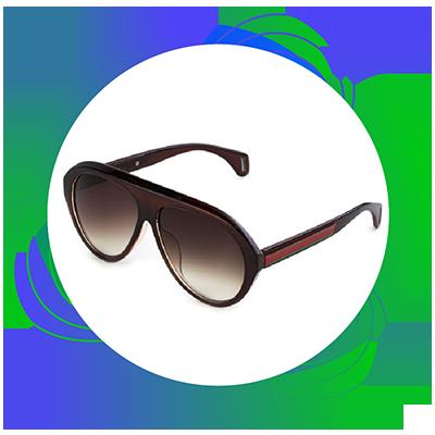 Quantum - gepolariseerde lenzen - brille